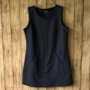 Athleta Hot When You're Not Gray Tunic Dress